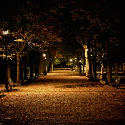 Silenzio e solitudine a Villa Borghese